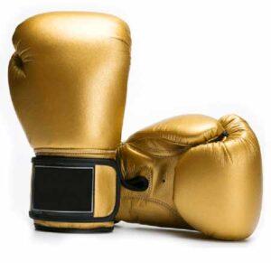 Golden Boxing Gloves